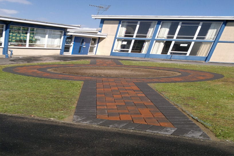 paving_North_east_School