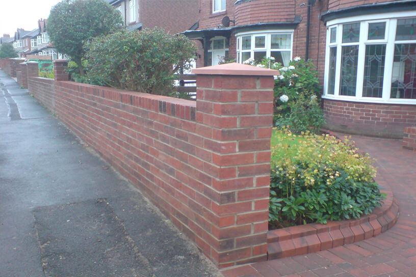 Brick Work New Garden Wall Amp Driveway