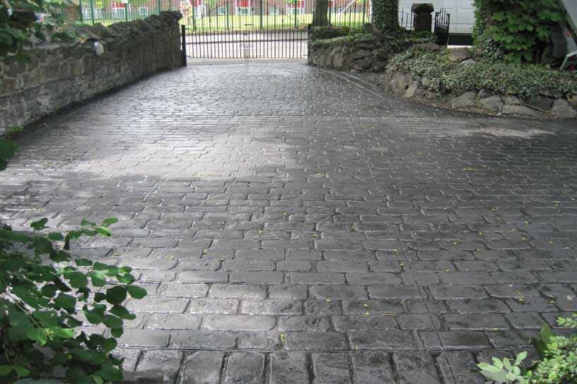 Patterned-concrete-driveways-newcastle