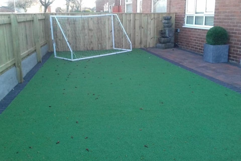 after-artificial-grass